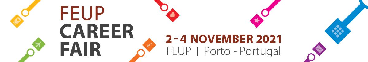 CAREER FAIR 2021 – FEUP Logo