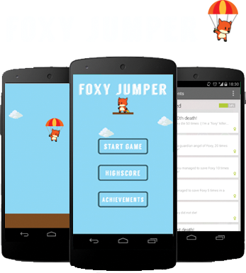 FoxyJumper - An Android game.