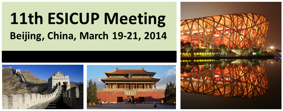 11th ESICUP Meeting