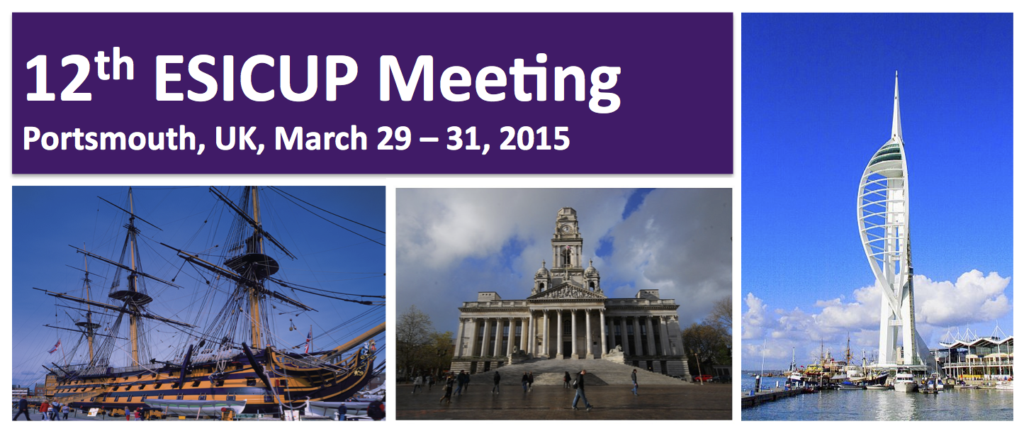 12th ESICUP Meeting