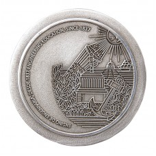 Medalha em estanho