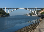 Arrábida Bridge, Concrete Arch (Middle of XX Century)