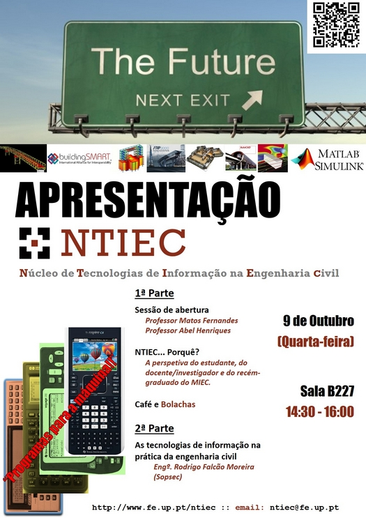 Poster Sessão de apresentação do NTIEC
