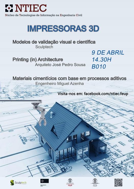 Poster Impressoras 3D