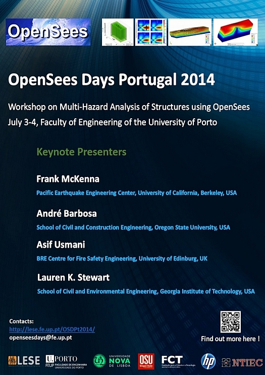Poster OpenSees Days Portugal 2014