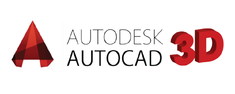 Logo AutoCAD 3D